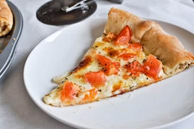 Рецепт Пицца с козьим сыром и базиликом