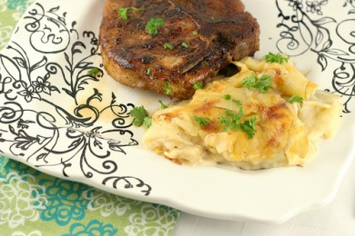 Рецепт Картофельный гратин с сыром