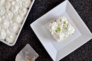 Рецепт Лимонно-лаймовый торт со взбитыми сливками