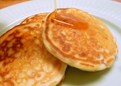 Рецепт Блины с пеканом и гранолой