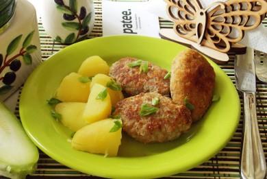 Рецепт Котлеты с кабачками