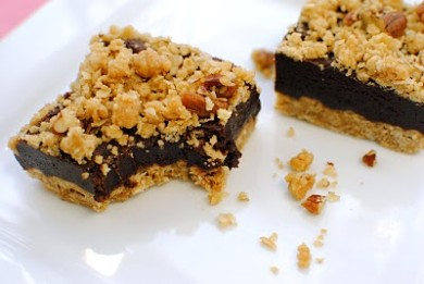 Рецепт Овсяные пирожные с шоколадом