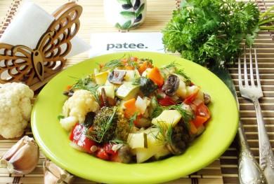 Рецепт Овощное рагу в мультиварке — рецепт для мультиварки