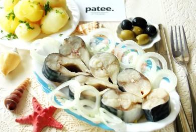 Рецепт Скумбрия соленая домашняя