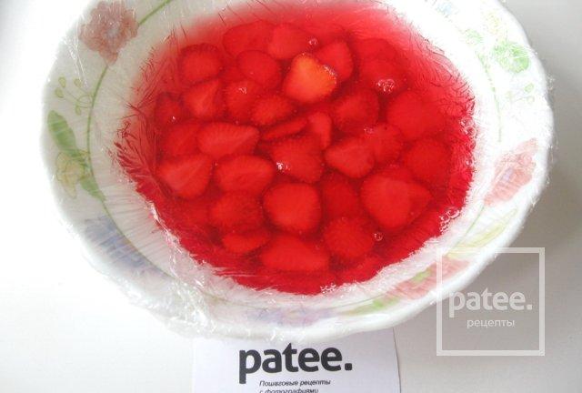 Торты желейные с клубникой рецепты с фото