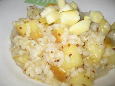 Рецепт Ризотто с яблоком и горчицей