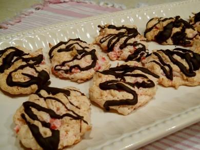 Рецепт Вишнево-шоколадные макаруны