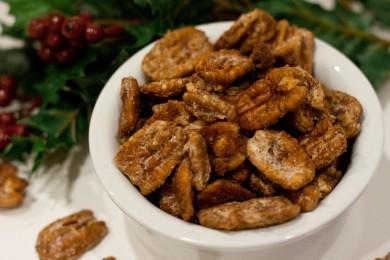 Рецепт Засахаренные орехи