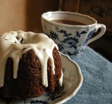 Рецепт Тыквенные тортики с глазурью