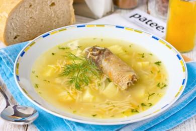 Рецепт Суп с куриными потрошками и вермишелью
