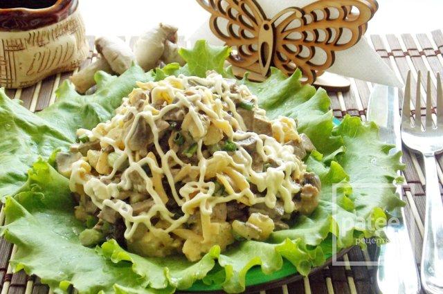 Салат из печени скрипкина