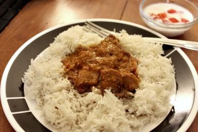 Рецепт Пряный рис басмати