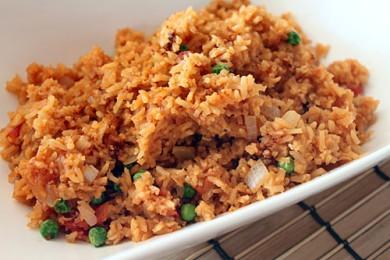 Рецепт Рис с горошком по-мексикански
