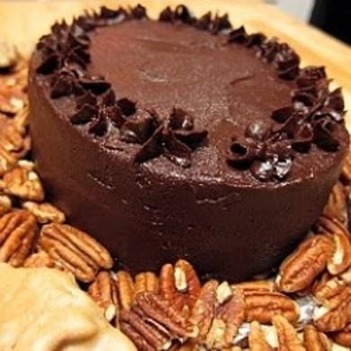 Рецепт Шоколадный торт с глазурью пралине