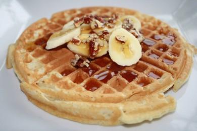 Рецепт Банановые вафли — рецепт для вафельницы