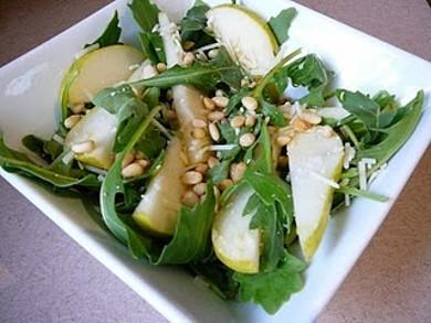 Рецепт Грушевый салат с рукколой