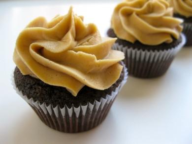 Рецепт Шоколадные кексы с арахисовым кремом