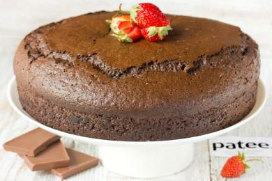 Рецепт Шоколадный бисквит на кипятке