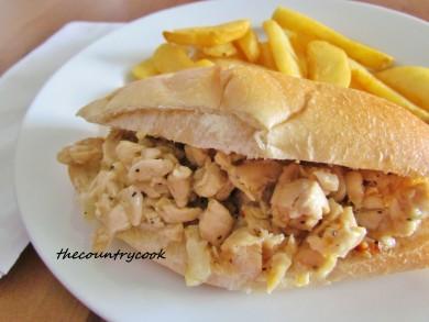 Рецепт Сэндвич с курицей
