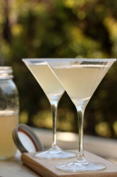 Рецепт Лимонно-бальзамический коктейль