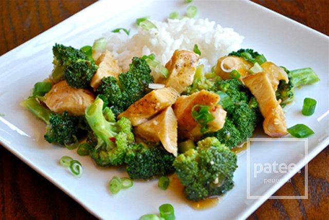 Блюда из брокколи с курицей рецепты