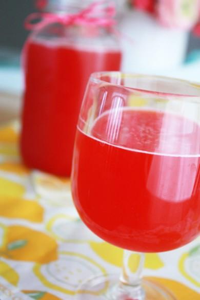 Рецепт Малиновый лимонад