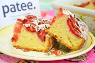 Рецепт Клубничный кекс