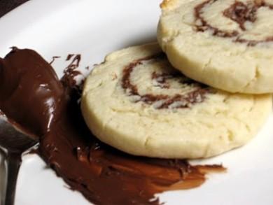 Рецепт Печенье с нутеллой и орехами