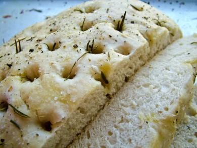 Рецепт Чесночно-розмариновый хлеб
