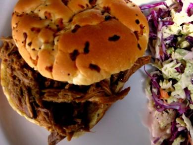 Рецепт Сэндвичи с тушеной свининой