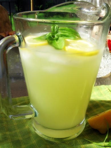 Рецепт Базиликовый лимонад