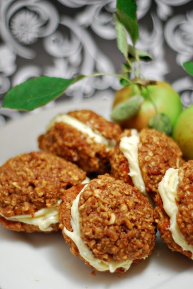 Рецепт Яблочные печенье-сэндвичи