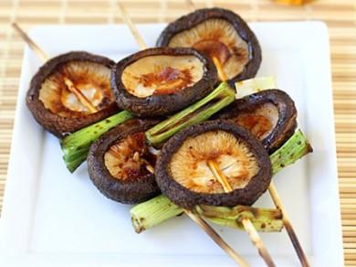 Рецепт Якитори из грибов