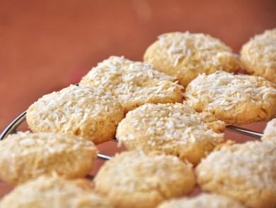 Рецепт Печенье с кокосом, медом и лимоном