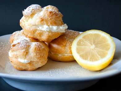 Рецепт Эклеры с лимонным кремом