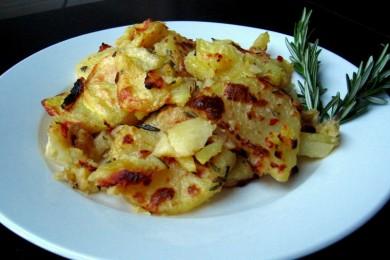 Рецепт Запеченный картофель с розмарином