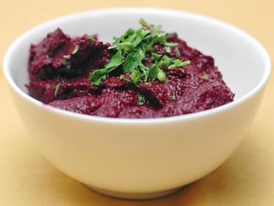 Рецепт Хумус из свеклы
