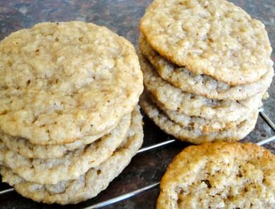 Рецепт Кокосово-овсяное печенье