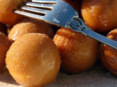Рецепт Медовые шарики Струффоли