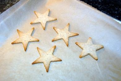 Рецепт Миндальное печенье-звездочки