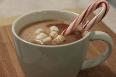 Рецепт Мятный горячий шоколад