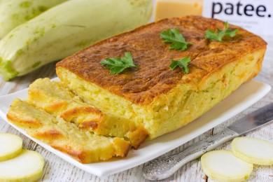 Рецепт Кабачково-сырный кекс
