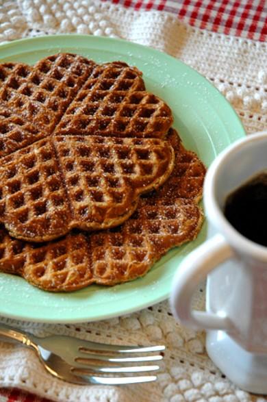 Рецепт Имбирные вафли — рецепт для вафельницы