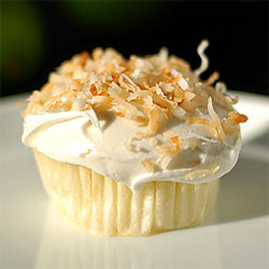 Рецепт Лаймовые кексы с кокосовой стружкой