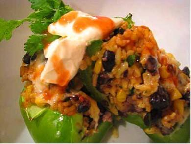 Рецепт Фаршированный перец по-мексикански