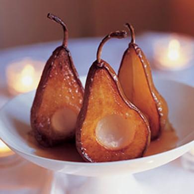 Рецепт Печеные груши с голубым сыром