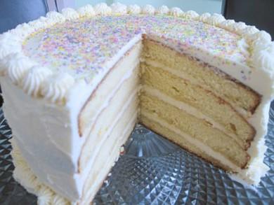 Рецепт Ванильно-ромовый торт