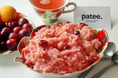 Рецепт Рисовая каша с фруктами