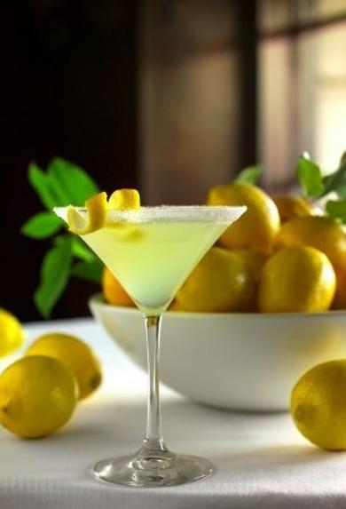 Рецепт Лимонный мартини