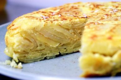 Рецепт Тортилья де патата (Картофельная запеканка)